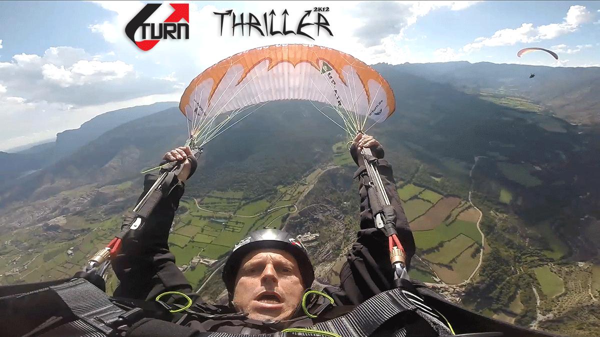 Fabio fazendo Infinity Tumbling com a U-Turn Thriller 2k12