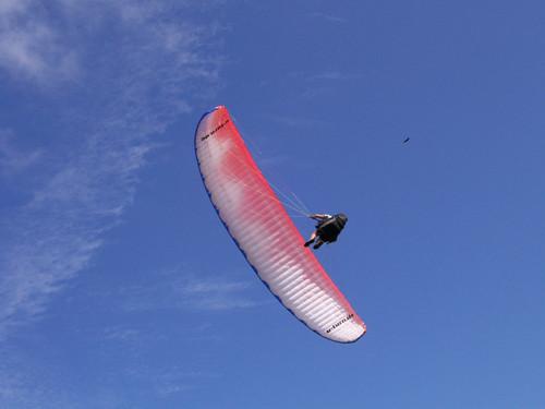Fabio voando em Florianópolis em Santa Catarina