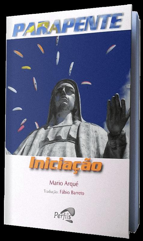 Capa da edição brasileira de Parapente Iniciação